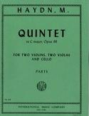 Quintet in C major op. 88 -Parts Michael Haydn laflutedepan.com