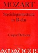 Streichquintettsatz in B-Dur -Partitur + Stimmen laflutedepan.com