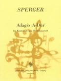 Adagio A-Dur -Kontrabass u. Streichquartett laflutedepan.com