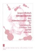 Divertimento op. 1 -Violonc. solo 2 Violinen Viola Bass -Partitur + Stimmen laflutedepan.com