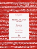 Concerto en la Mineur Michel Blavet Partition laflutedepan