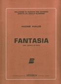 Fantasia - Guitare et piano Hans Haug Partition laflutedepan.com