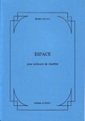 Espace - Orchestre de chambre Bernard Malait laflutedepan.com