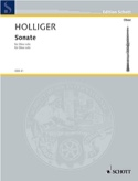 Sonate für Oboe solo Heinz Holliger Partition laflutedepan.com