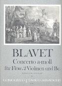 Concerto a-moll f. Flöte - Flöte Klavier Michel Blavet laflutedepan