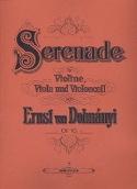 Sérénade op.10 - Stimmen DOHNÁNYI Partition Trios - laflutedepan.com