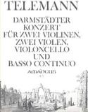 Darmstädter Konzert -2 Violinen 2 Violen Violoncello Bc laflutedepan.com