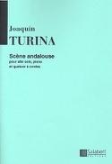 Scène andalouse Joaquin Turina Partition Sextuors - laflutedepan.com