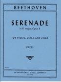 Serenade D-Dur op. 8 -Parts BEETHOVEN Partition laflutedepan.com