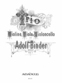 Trio op. 1 - Stimmen Adolph Binder Partition Trios - laflutedepan.com