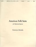 American Folk Suite Kazimierz Machala Partition laflutedepan.com