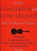 Concertino en Sol Opus 15 – Alto Ferdinand Küchler laflutedepan.com