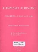 Concerto a 5 op. 9 n° 11 – Oboe piano Tomaso Albinoni laflutedepan.com