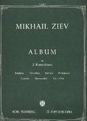 Album Mikhaïl Ziev Partition Contrebasse - laflutedepan.com