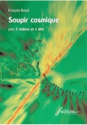 Soupir cosmique François Rossé Partition Trios - laflutedepan.com