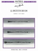 15 Petits duos Partition Hautbois - laflutedepan.com
