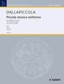 Piccola musica notturna Version de chambre - Stimmen laflutedepan.com
