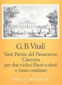 Varie Partite del Passamezzo op. 7/1 – Ciaccona op. 7/3 - laflutedepan.com