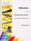 Mélusine Claude-Henry Joubert Partition Alto - laflutedepan.com