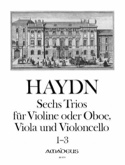 6 Trios Bd. 1 -Stimmen Joseph Haydn Partition laflutedepan.com