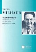 Scaramouche Darius Milhaud Partition Sextuors - laflutedepan.com