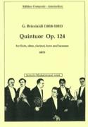 Quintuor op. 124 -Windquintett Giulio Briccialdi laflutedepan.com