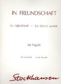In Freundschaft -Fagott - Karlheinz Stockhausen - laflutedepan.com