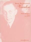Vocalise op. 34 n° 14 – Alto Serge Rachmaninov laflutedepan.com