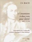 15 Inventions à deux Voix laflutedepan.com