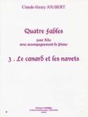 Le Canard et les Navets - Claude-Henry Joubert - laflutedepan.com