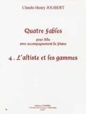 L'altiste et les Gammes (N° 4 des Quatre Fables) laflutedepan.com