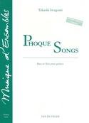 Phoque Songs Takashi Iwagami Partition Guitare - laflutedepan.com