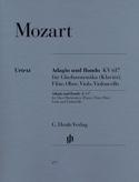Adagio et Rondo KV 617 MOZART Partition Quintettes - laflutedepan.com