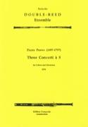 3 Concerti à 5 - 3 Oboes 2 bassoons - Score + parts laflutedepan.com