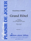 Grand Hôtel Claude-Henry Joubert Partition laflutedepan.com