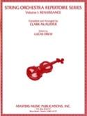 String Orch. Repertoire, Volume 1 : Renaissance laflutedepan.com