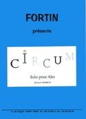 Circum - Bernard Chapron - Partition - Alto - laflutedepan.com