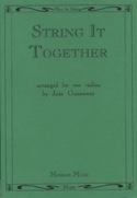 String it Together Jane Gannaway Partition Violon - laflutedepan.com