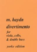 Divertimento –Score + Parts Michael Haydn Partition laflutedepan.com