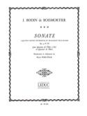 Sonate à 4 parties op. 34 n° 3 - Conducteur laflutedepan.com