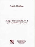 La Harpe Buissonnière N° 2 Annie Challan Partition laflutedepan.com