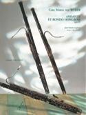 Andante et Rondo hongrois op. 35 Audin laflutedepan.com