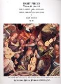 8 Pieces Op. 83 - Volume 2 : N° 5-8 Max Bruch laflutedepan.com