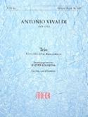 Trio -Flauto dolce Oboe BC - Partitur + 3 Stimmen laflutedepan.com