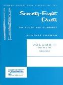 78 Duets - Volume 2 Partition Duos - laflutedepan.com