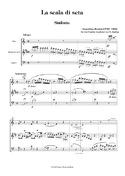 La scala di seta - Sinfonia - Oboe Klarinette Fagott laflutedepan.com