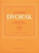 Miniatures op. 75a et Gavotte DVORAK Partition laflutedepan.com