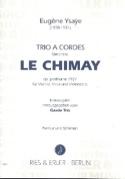 Trio à cordes Le Chimay op. posth. -Partitur + Stimmen laflutedepan.com