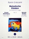 Melodische Etüden – Volume 2 Ramin Entezami Partition laflutedepan.com
