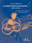 Comme des chansons... Volume 1 Thierry Tisserand laflutedepan.com